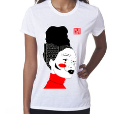 Women's She Be Lady Art T-Shirt (White)