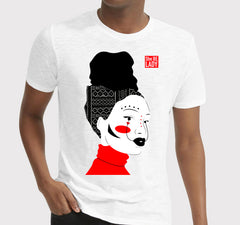 Men's She Be Lady Art T-Shirt (White)
