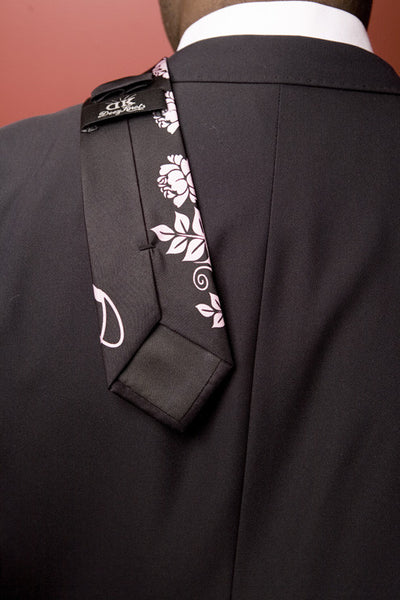 The Thorns and Roses Tie