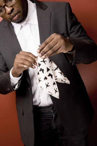 The Fly Pocket Square