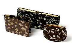 Amharic Monogram Purses and Wallets