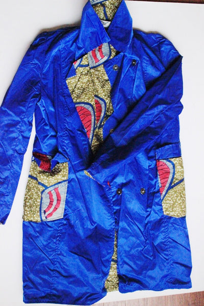 Print Wax Raincoat