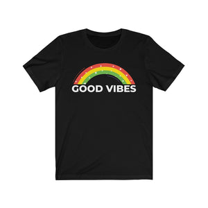 Unisex Jersey Short Sleeve Tee Good Vibes