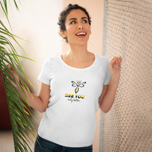 Load image into Gallery viewer, Organic Women's Lover T-shirt Bee You