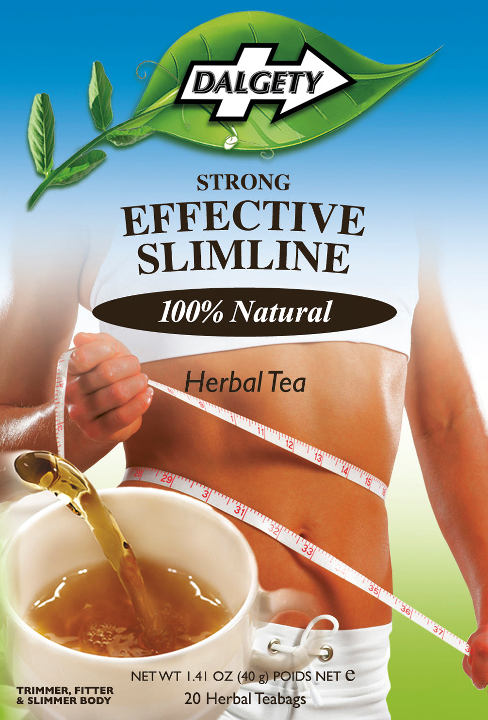 DALGETY EFFECTIVE SLIMLINE HERBAL TEA