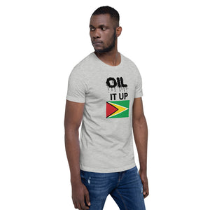 Short-Sleeve Unisex T-Shirt_Oil it up_Guyana