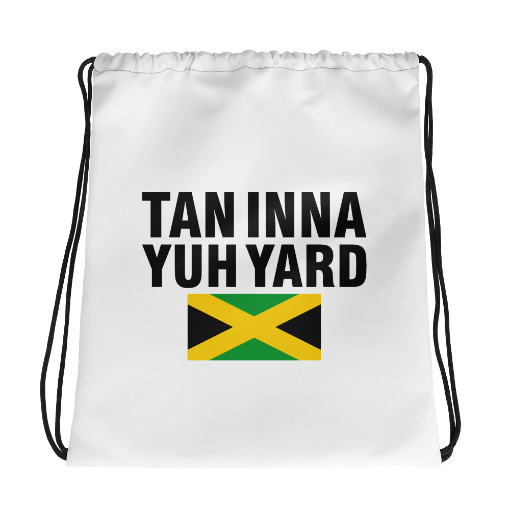 Drawstring bag Tan inna yuh yard