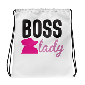Drawstring bag Boss lady
