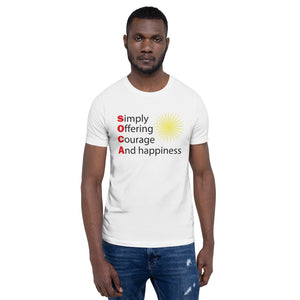 Short-Sleeve Unisex T-Shirt simply offering