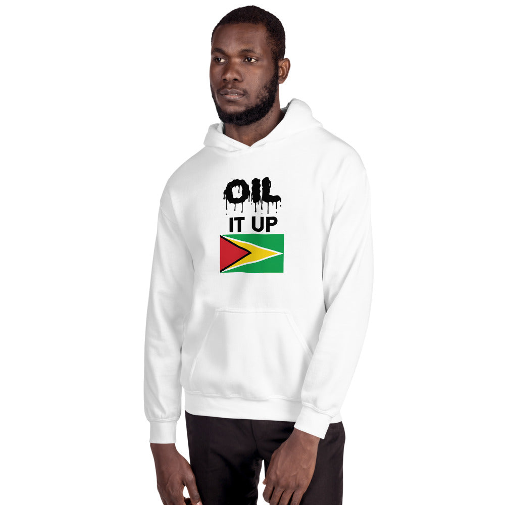 Unisex Hoodie_Oil it up