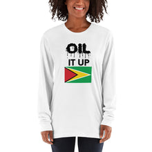 Load image into Gallery viewer, Long sleeve t-shirt Oil it up
