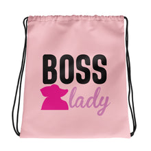 Load image into Gallery viewer, Drawstring bag Classy boss lady