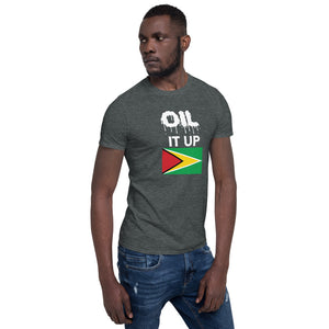 Short-Sleeve Unisex T-Shirt_Oil it Black Guyana