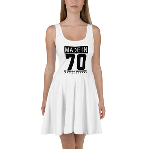 Skater Dress, Made in 70