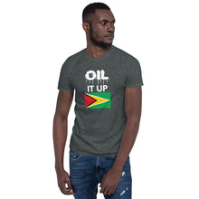 Load image into Gallery viewer, Short-Sleeve Unisex T-Shirt_Oil it Black Guyana
