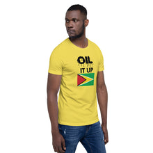 Load image into Gallery viewer, Short-Sleeve Unisex T-Shirt_Oil it up_Guyana
