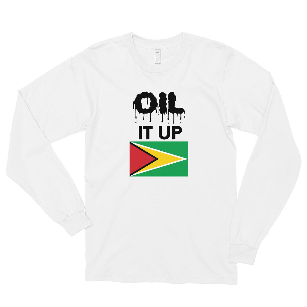 Long sleeve t-shirt Oil it up