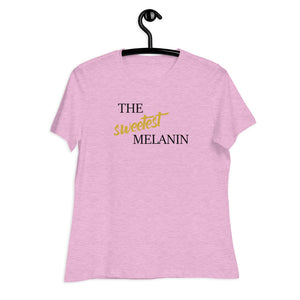 Women's Relaxed T-Shirt Melanin