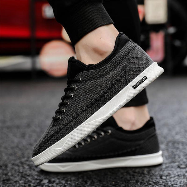 Mens Fashion Canvas Walking Shoes Athletic Shoes