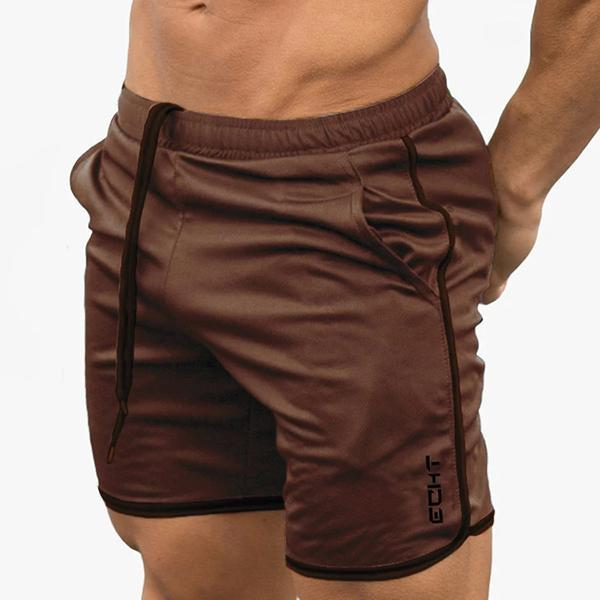 Men's Solid Color Loose Shorts