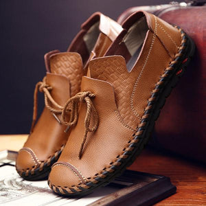 Men's Comfortable Handmade Driving Moccasins Shoes