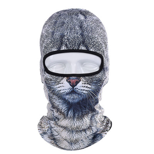 Animals Balaclava Bicycle Thermal Mask Motorcycle Under Helmet Face Mask