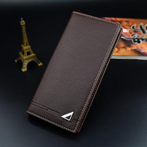 Men's Fashion Multifunctional Coin Bags Long Wallets