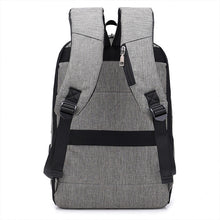 Load image into Gallery viewer, Casual Large Capacity USB Charging Port Laptop Backpack
