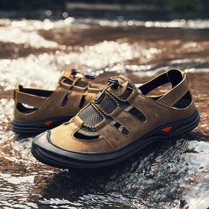 Men's Breathable Casual Closed Toe Summer Sandals