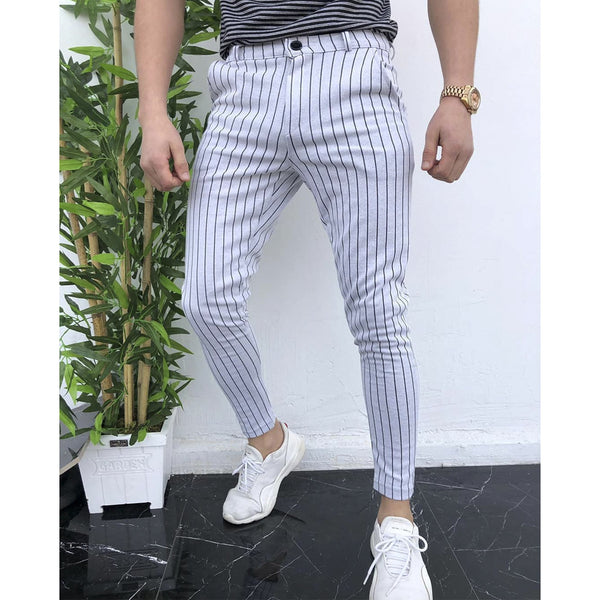 Men's Fashion Striped Casual Pants