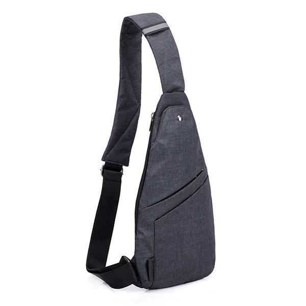 Anti-theft Water Resistant Outdoor Travel Sling Bag Chest Bag Crossbody Bag