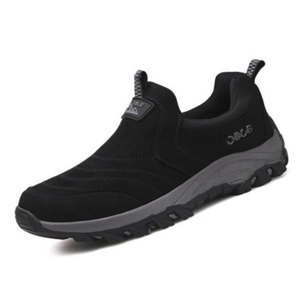 Men Breathable Comfy Slip On Sneakers Sports Shoes