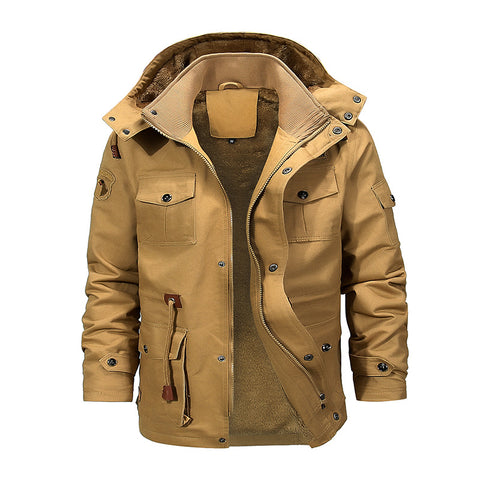 Men's New Medium Long Windshield Jackets