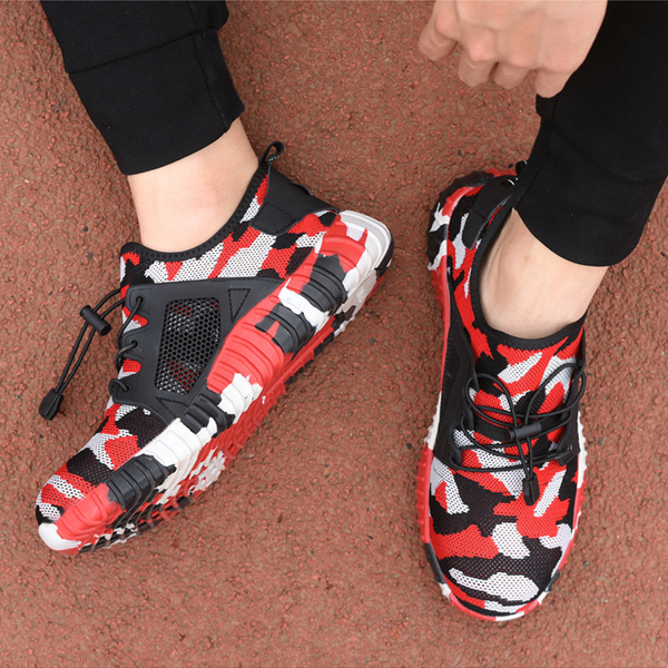 Summer Breathable Portable Wear-Resistant Camouflage Sneakers