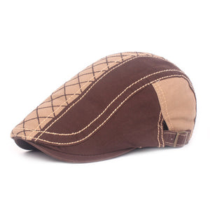 Mens Fashion Sunshade Hat Outdoor Newsboy Caps Beret Caps