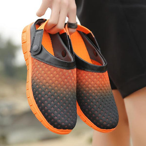 Mesh Beach Outdoor Slip On Comfortable Flats Sandals Slipper Shoes