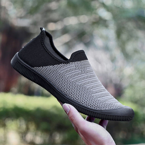 Mens Breathable Soft Sole Sports Casual Sneakers