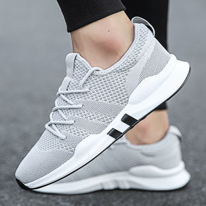 Mens Casual Breathable Sneakers Outdoor Running Shoes
