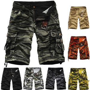 Men's Summer Fashion Casual Camouflage Cargo Shorts