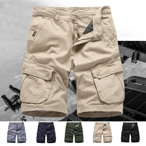 Men's Multi-pocket Fifth Pants Casual Shorts