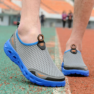 Mens Honeycomb Mesh Quick Drying Beach Shoes Breathable Athletic Shoes