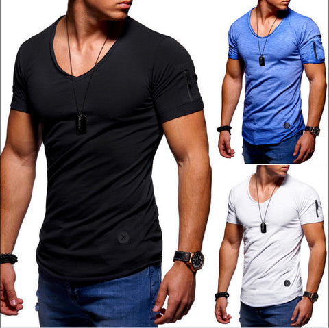 Casual Short Sleeve Loose T-shirt For Men