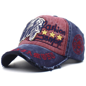 6c9a0d9ce31b16 Sale. Mens Adjustable Washed Embroidery Snapback Hat Baseball Cap