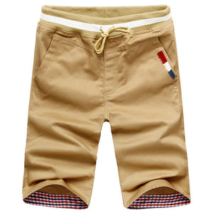 Mens Summer Casual Beach Shorts Joggers Trousers Knee Length Shorts
