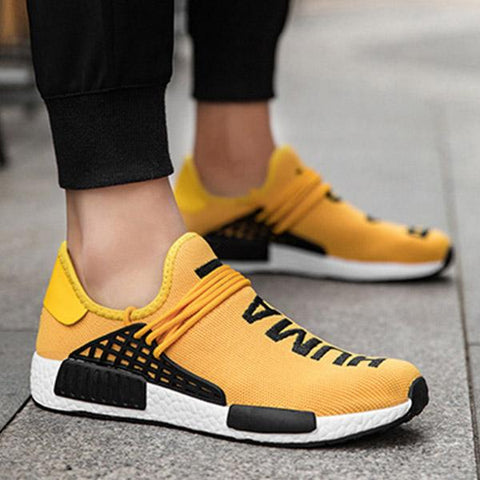 Men's Breathable Flat Sneakers