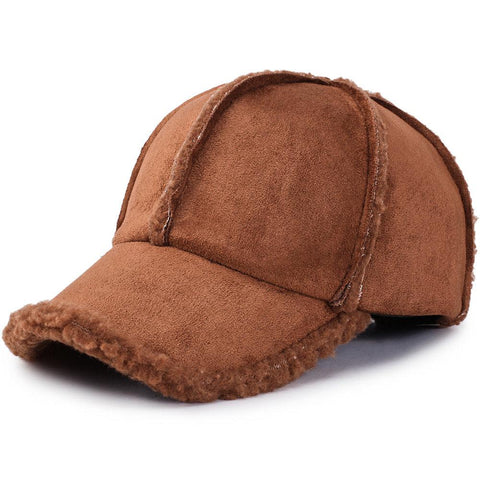 Unisex Winter Adjustable Cotton Warm Comfortable Vintage Baseball Cap