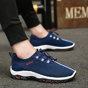 Mens Casual Mesh Outdoor Climbing Sneakers Running Shoes