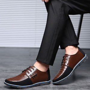 Mens Casual Large Size Non-slip Soft Sole Casual Driving Shoes