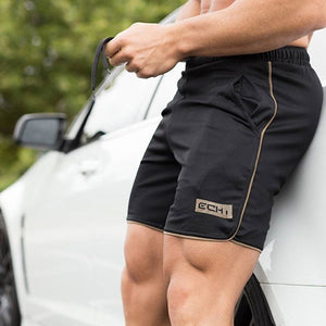 Men Casual Gyms Fitness Shorts Sweatpants Jogger Short Pants