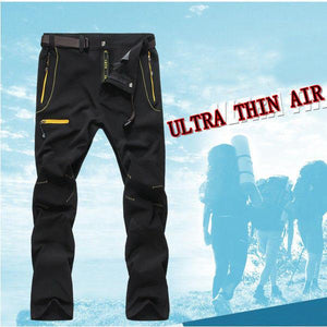 Casual Fitness Thin Elastic Trousers Outdoor Sports Quick Drying Pants